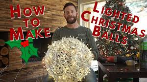 Chicken Wire Christmas Lights How To Make Lighted Christmas Balls From Chicken Wire Poultry Netting