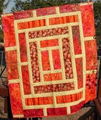 Mer enn 25 Bra ideer om Orange Quilt på Pinterest ... & Doorway to China Quilt (Pattern located at http://patsloan.typepad. Adamdwight.com
