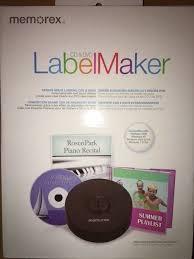 How To Label Dvds Memorex Cd Dvd Label Maker Kit 98977 Ebay