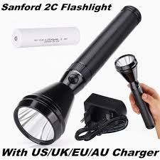 Sanford Torch Light Price In India Sanford 2c Tactical Flashlight 500 Meters Cree Led