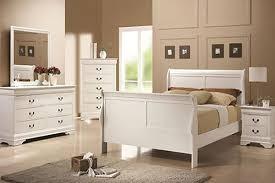 FULL BEDROOM SET #2147 WHITE