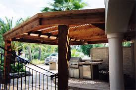 Outdoor Kitchen Roof Outdoor Kitchens Houston Surrounding Areas Crenshaw Landscapes