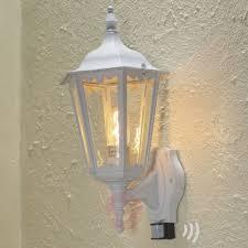 firenze outdoor wall lantern with sensor white 5522196 32