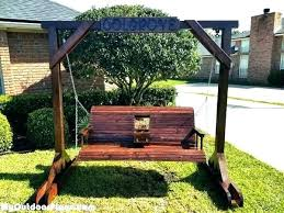 outdoor baby swing frame with stand toddler