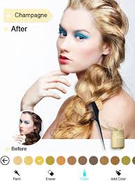 Hairstyle Simulator App hair color dye switch hairstyles wig photo makeup on the app store 3221 by stevesalt.us