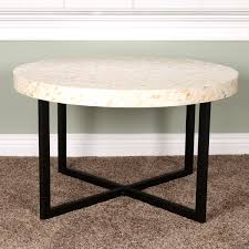 contemporary metal furniture. Furniture, Black And Cream Round Contemporary Metal Granite Top Pier One Coffee Tables Designs Furniture S