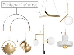 suspension pendant in black gold 665 2 resident studio tri pendant light 1 750 3 michael anastassiades brass pendant with white globe 287
