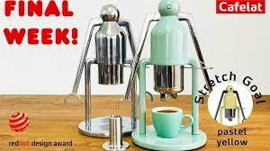 4,169 coffee robot products are offered for sale by suppliers on alibaba.com, of which vending machines accounts for 24%, manipulator accounts for 3%, and coffee makers accounts for 2%. Cafelat Robot Manual Espresso Coffee Maker By Cafelat Kickstarter