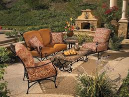 wrought iron garden furniture. Vintage Wrought Iron Patio Furniture Sets Garden