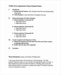 argumentative essay outline example co argumentative essay outline example how to create