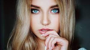 Blue Eyes Girl HD Wallpaper - KoLPaPer ...