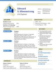 Urban Development Resume Template