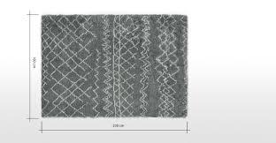 white modern rug. ayla moroccan style wool berber large rug, 160 x 230cm, grey white modern rug