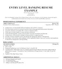 Resume Samples For Banking Professionals Resume Samples For Banking