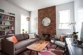 cozy furniture brooklyn. Grey Sofa By Katyfurniture With Walnut Table And Area Rug For Living Room Decoration Ideas Cozy Furniture Brooklyn N