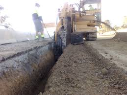 Image result for trenching equipment
