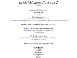 airbrush makeup for bridal party attendants family is separate from the bridal makeup packages for the bride 70