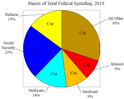 2013 Us Budget Pie Chart What Federal Spending To Cut Cato Liberty