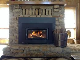 new fireplace insert completed by fluesbrothers chimney service in kansas city