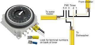 grasslin time clock wiring diagram somurich com grasslin time clock wiring diagram how to wire under counter water heater to same circuit