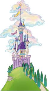Adesivi murali: castello magico leostickers