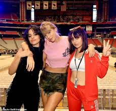 Taylor Swift Joins Camila Cabello And Charli Xcx For