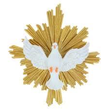 Cadre Colombe du Saint Esprit 22 x 24 cm