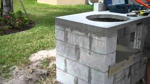 Do It Yourself Outdoor Kitchen Concrete Outdoor Kitchen Overview And Tips During Construction