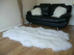 ideal faux fur rug ikea of accessories ikea sheepskin rugs sheepskin throw cow