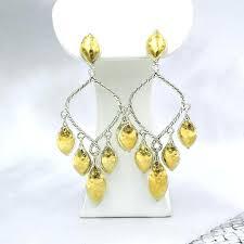 sterling chandelier earrings john hardy sterling silver yellow gold chandelier earrings sterling silver chandelier earrings uk