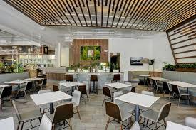 Modern Restaurant Ceiling Design