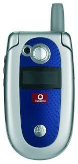 Motorola V525 Replete With The Vodafone