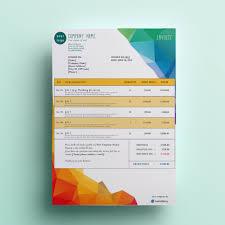 invoice template design modern invoice template rome fontanacountryinn com