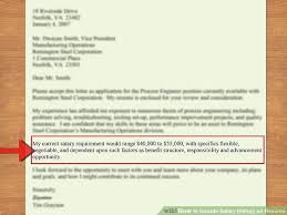 Receptionist Cover Letter With Salary Requirements Discreetliasons Com How To Include Salary History On Resume 11