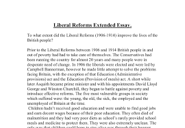 liberal reforms gcse history marked by teachers com document image preview