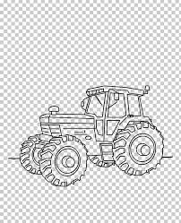 Car Tractor Fordson Kleurplaat Drawing Png Clipart Angle Area