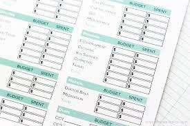 Simple FREE Printable Budget Worksheets - Printable Crush