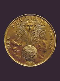 the pomp and mockery of louis xiv s propaganda medals nec pluribus impar designed by jean warin 1672 louis xiv