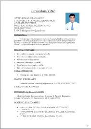 Mba Resume Templates Freshers Best of Mba Resume Template Curriculum Vitae C O At Street Mba Resume Format