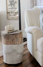tree stump side table wood coffee luxury for with regard to nightstand plans 5