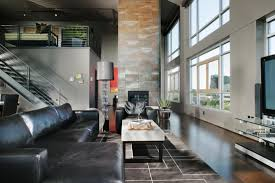Huge Living Room Rugs Spacious Living Room Featuring Myriad Textures And Tones