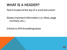 How To Make Apa Style Headers Microsoft Word Ppt Download