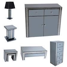 smoked mirrored furniture. Smoked Grey Mirrored Furniture
