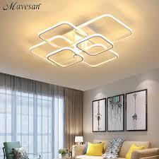 acrylic modern led chandelier