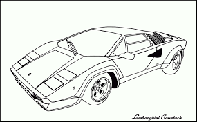 Sports Cars Cars Coloring Pagesfree