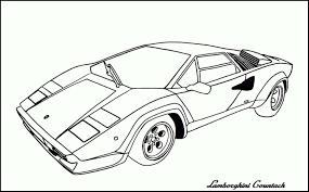Free Printable Coloring Pages Of Lamborghini