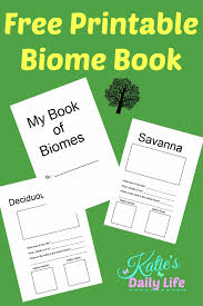 Free Printable Biome Book - Katie's Daily Life