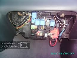 fusebox relocation and plug identification pics 56k stay outside i relocated my fuse box in my s14 but i put it where the glove box is instead of in the center console here s some pics