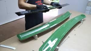 Изготовление лип-<b>спойлера</b> на <b>крышку багажника для</b> Audi A8 D2