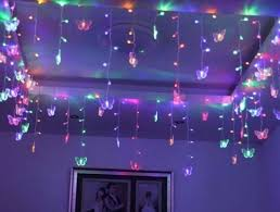 Blacklight String Lights Mesmerizing Blacklight Party Decorations Multi 32M 32SMD Butterfly LED String
